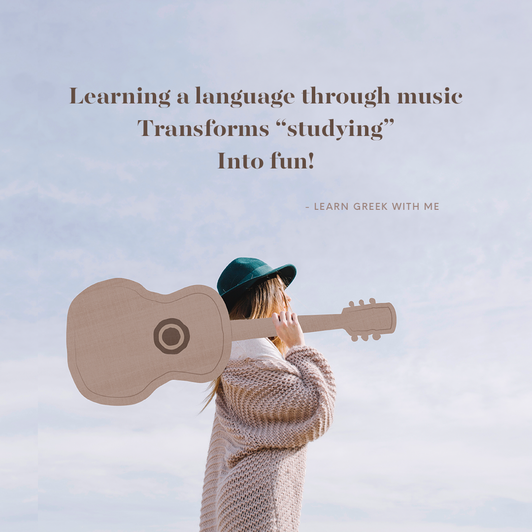 Learning a Language through and with music!